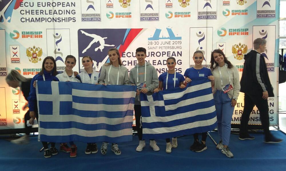 Στην Ελλάδα το Ευρωπαϊκό Πρωτάθλημα Cheerleading το 2021