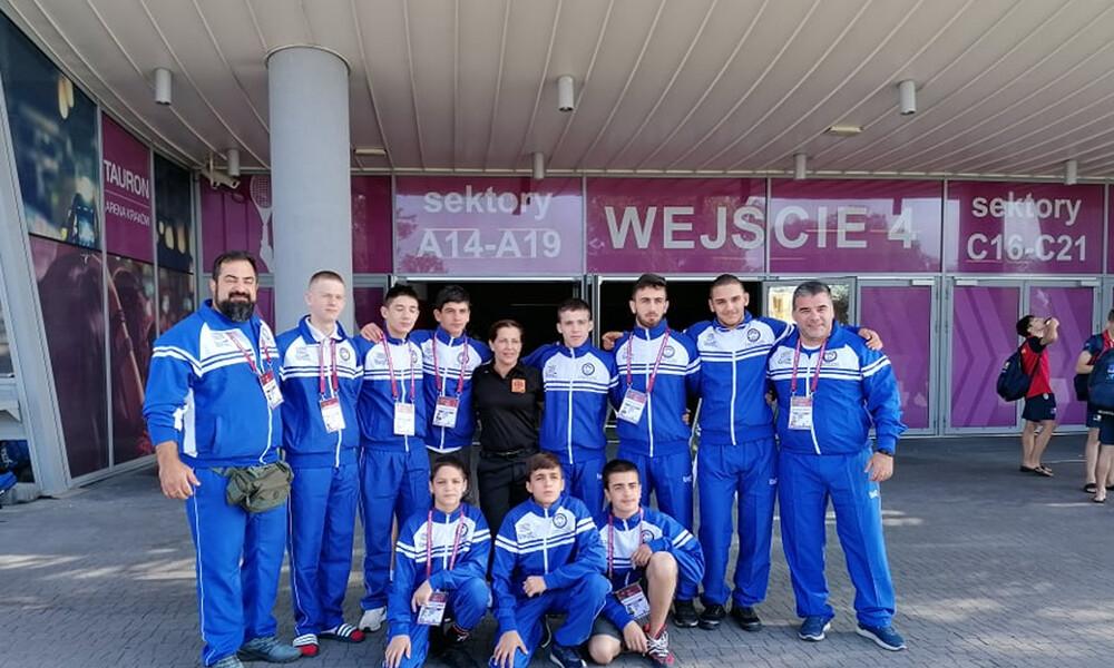 Στα ρεπεσάζ του Ευρωπαϊκού πρωταθλήματος Παπαβασιλείου – Αθανασίου