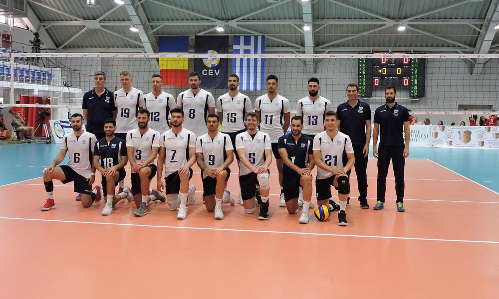 Silver European League: Ηττα με 3-0 στη Ρουμανία και 2η θέση για την Εθνική