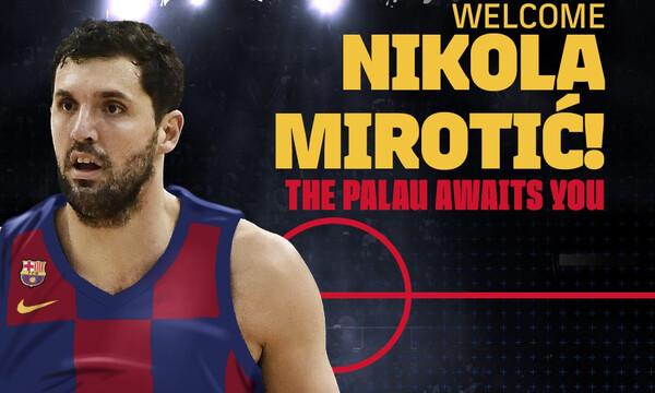Στην Μπαρτσελόνα και επίσημα ο Μίροτιτς! (photos,video)