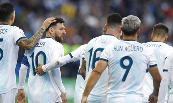 Κόπα Αμέρικα: Την θέση της παρηγοριάς η Αργεντινή (video+photos)