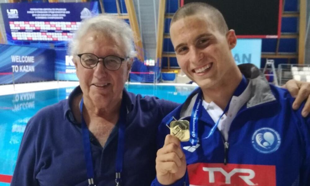Κολύμβηση: Δεύτερο χρυσό για τον Παπαστάμο