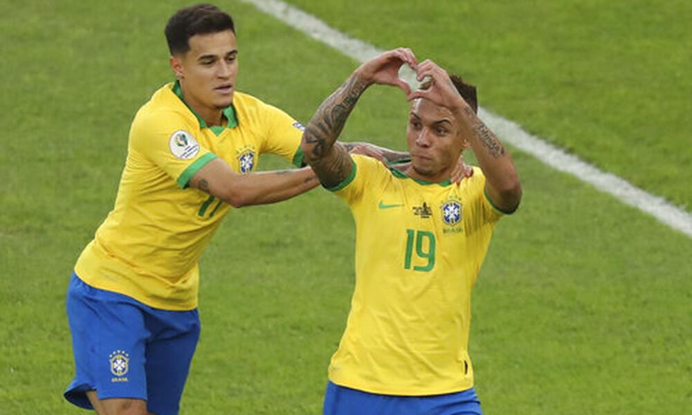 Κόπα Αμέρικα: «Χόρεψε» και επέστρεψε στην κορυφή η Βραζιλία (videos+photos)