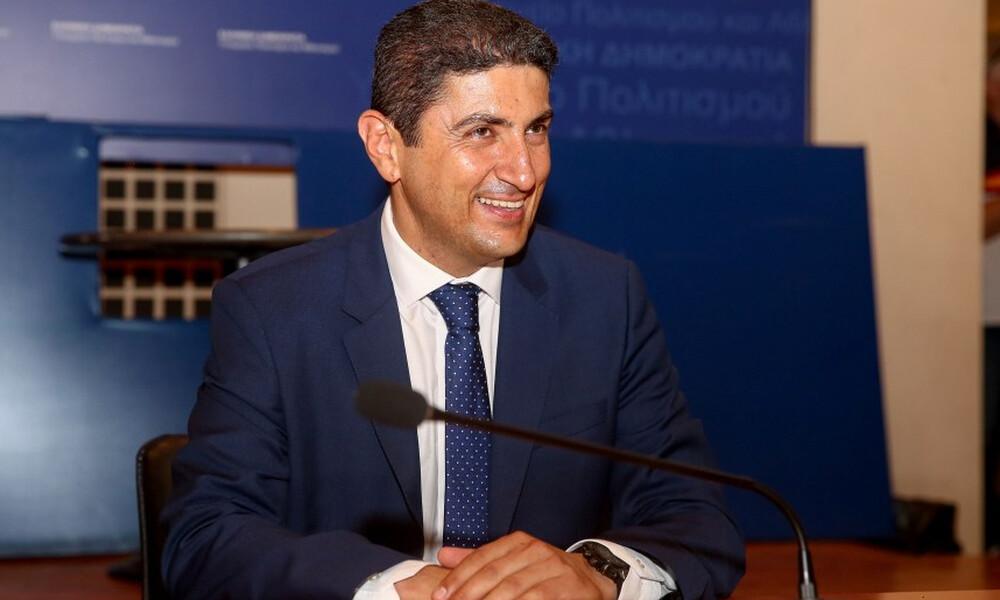 Αυγενάκης: «Επιλογή μου το υφυπουργείο Αθλητισμού - Πάμε να βάλουμε πολλά γκολ»!