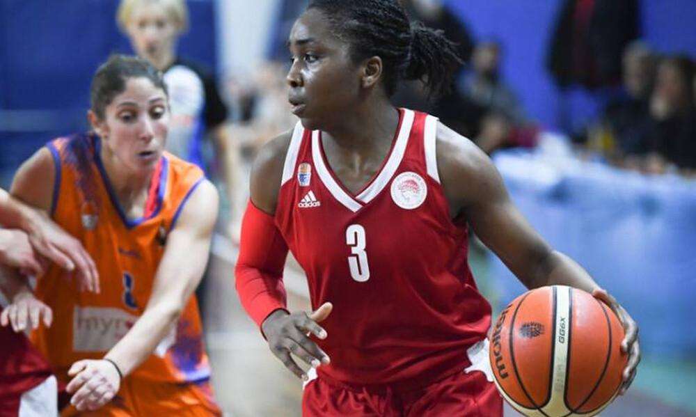 Ολυμπιακός: Ανανέωσε και με την Τζέσικα Τόμας