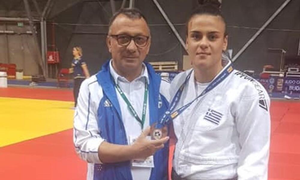 Τζούντο: Χάλκινο μετάλλιο η Τελτσίδου στο Γκραν Πρι Βουδαπέστης