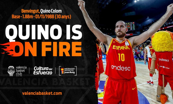 Euroleague: Ανακοίνωσε και επίσημα Κολόμ η Βαλένθια (videos+photo)
