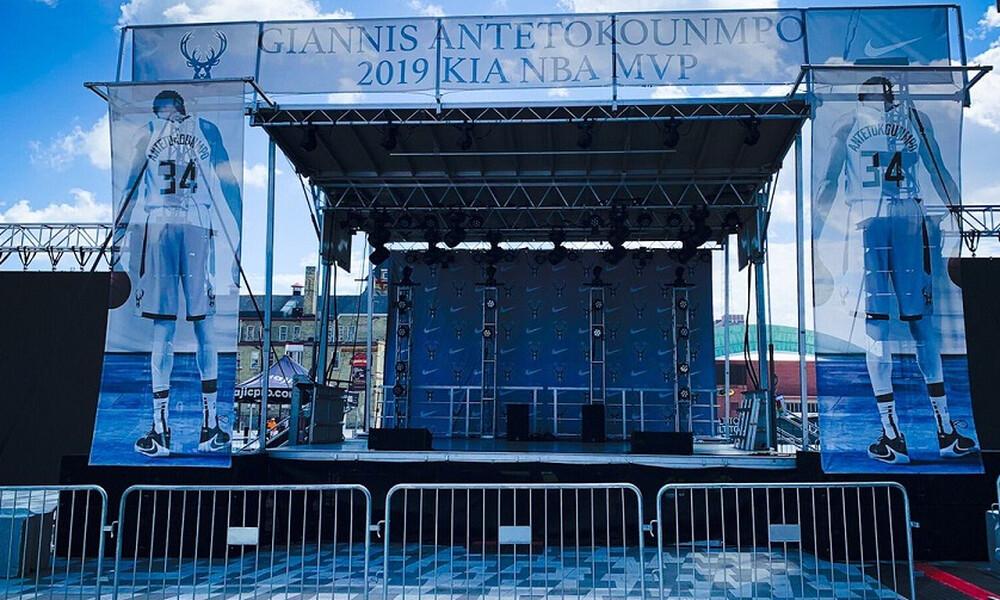 Θεσπίστηκε ως «Giannis Antetokounmpo Day» η 14η Ιουλίου στο Μιλγουόκι (photos)