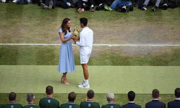 Wimbledon: Βασιλιάς ο Τζόκοβιτς μετά από απίθανο τελικό (photos)