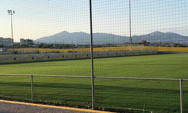 ΑΕΚ: Πανέτοιμο το γήπεδο στα Σπάτα (photos)