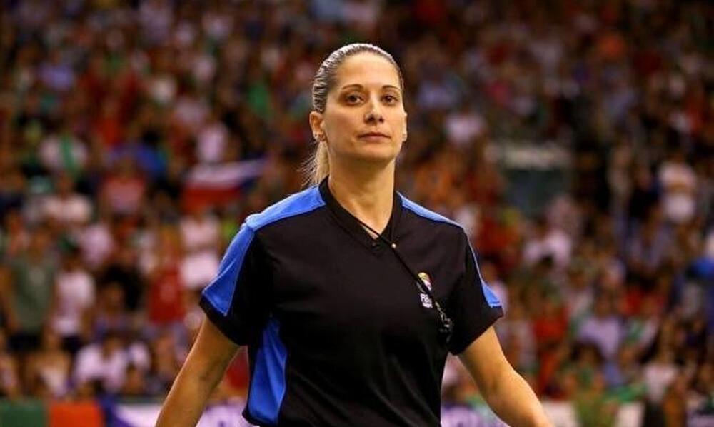 Έτοιμη να «σφυρίξει» αγώνες Euroleague η Τσαρούχα