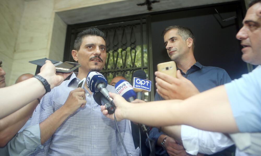 Στο γραφείο του Κώστα Μπακογιάννη ο Δημήτρης Γιαννακόπουλος - Σε εξέλιξη το meeting (video)