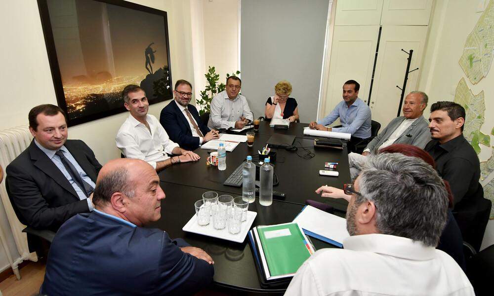 Τα κλικ από το kick off meeting για το Βοτανικό (photos)
