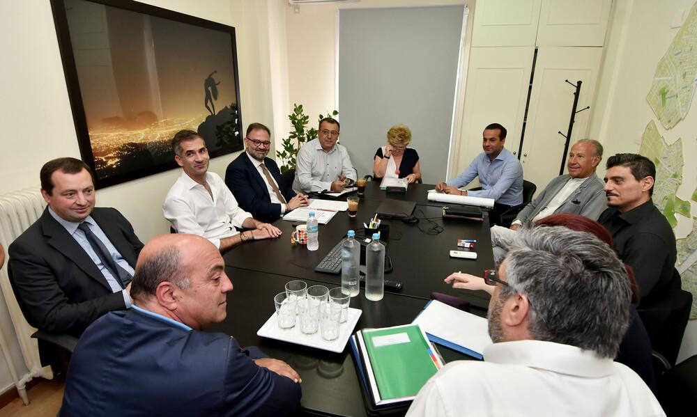 Αθήνα Ψηλά: «Η πρώτη συνεδρίαση της ομάδας εργασίας για τον Βοτανικό»