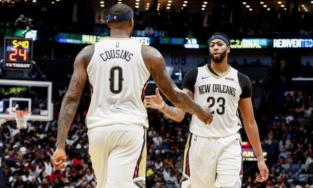 NBA: Αποθεώνει Κάζινς ο Ντέιβις (video+photos)