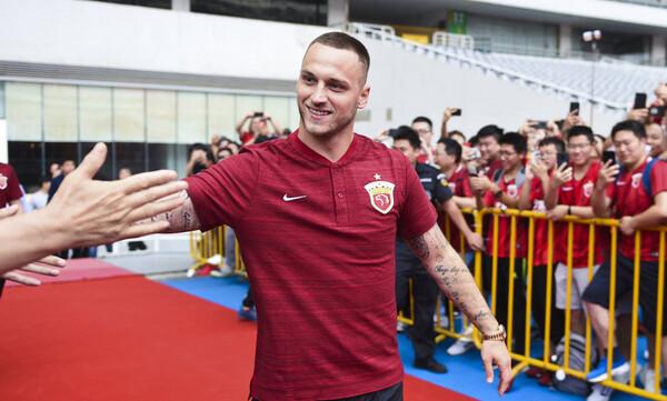 Ντεμπούτο με γκολ για Αρναούτοβιτς στην Κίνα (photos+video)