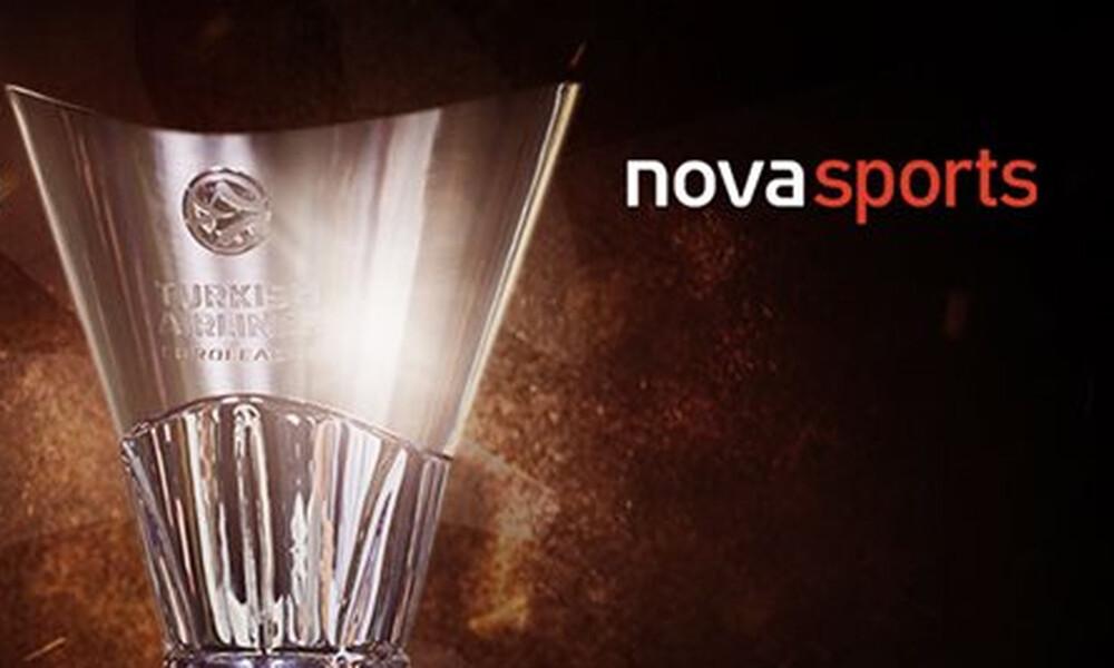 Επίσημο: Στη Nova μέχρι το 2023 η Euroleague