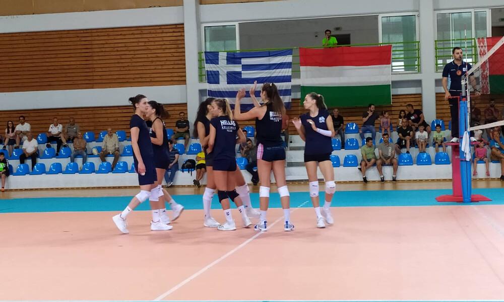 Φιλική νίκη της Εθνικής βόλεϊ γυναικών επί της Ουγγαρίας