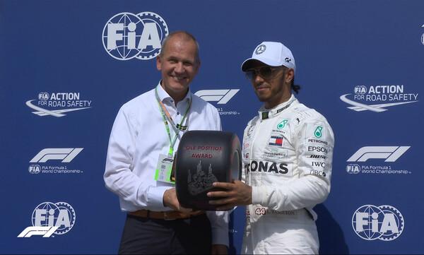 Formula 1: Ο Χάμιλτον στην pole position και στο Χόκενχαϊμ