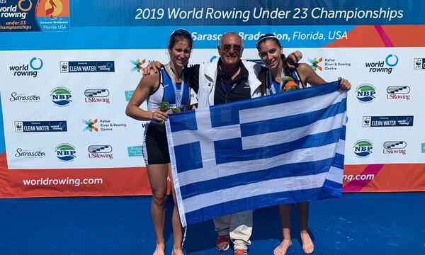 Παγκόσμιο Πρωτάθλημα κωπηλασίας: «Χρυσές» και οι Κυρίδου και Τσαμοπούλου (photos+video)