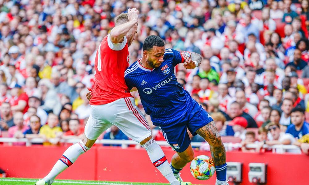 Η Λιόν νίκησε 2-1 την Άρσεναλ στο Emirates Cup (video)