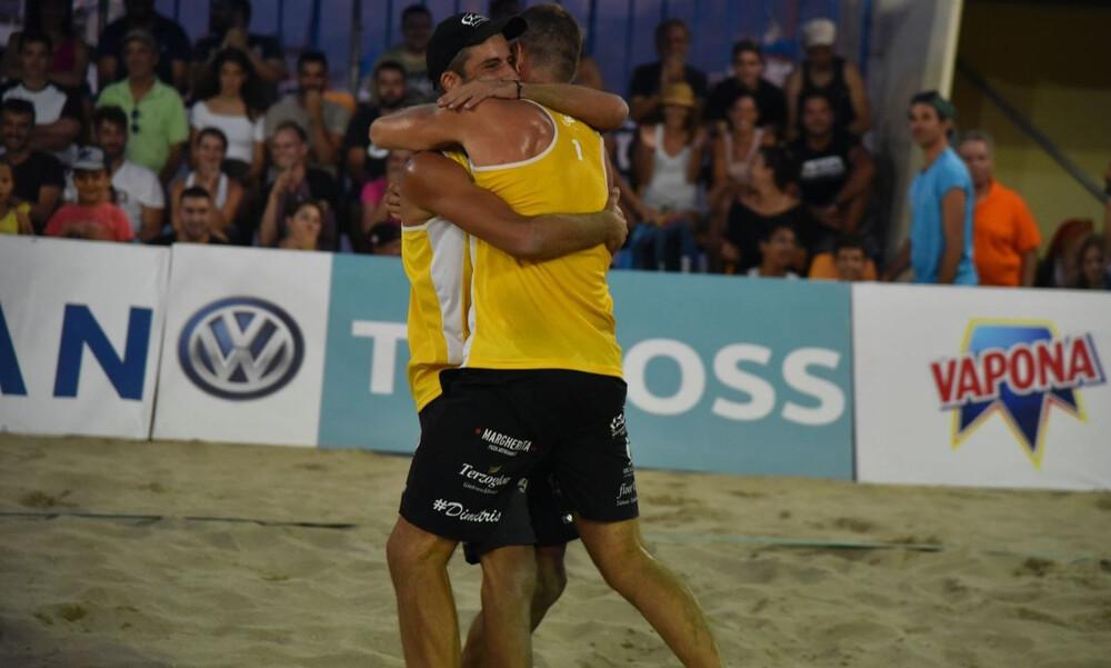 Δημήτρης Νιώπας και Θοδωρής Παπαδημητρίου πρωταθλητές Ελλάδας στην άμμο