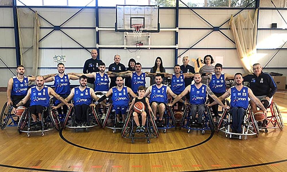 Στη Σόφια για το Πανευρωπαϊκό η εθνική ομάδα μπάσκετ με αμαξίδιο