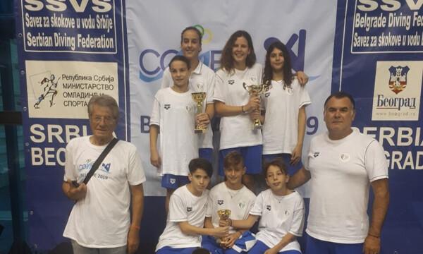 Καταδύσεις: Τέσσερα μετάλλια και δεύτερη θέση οι Έλληνες στο Μεσογειακό Κύπελλο