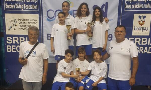 Καταδύσεις: Έντεκα μετάλλια για την Ελλάδα στο Μεσογειακό Κύπελλο