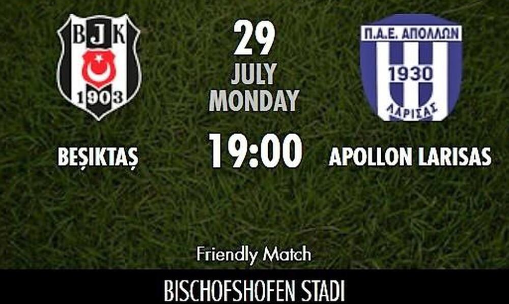 Φοβερός Απόλλων Λάρισας, 0-0 με τη Μπεσίκτας!