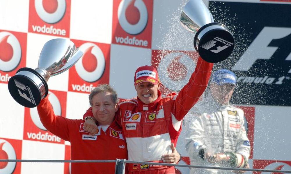 Συγκίνηση για τον Μίκαελ Σουμάχερ: Είδε αγώνα της Formula 1!