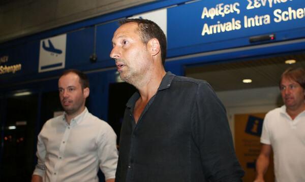 Στην Ελλάδα ο νέος προπονητής της Εθνικής Τζον Φαν Σιπ (photos)