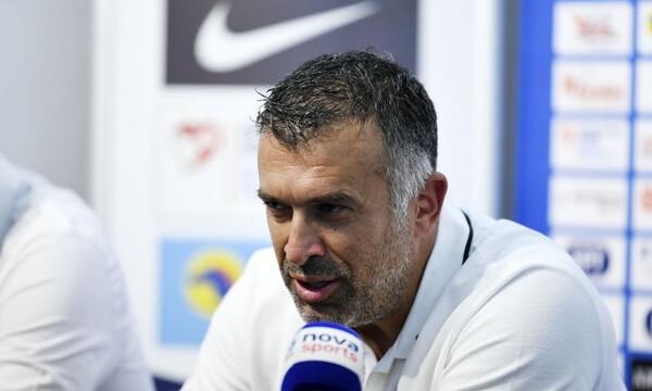 Αναστασίου: «Διαφορετικό το ματς στο Περιστέρι»