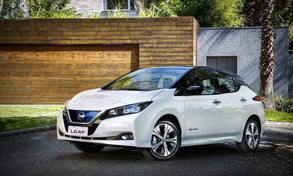 """Το Nissan LEAF  απέσπασε την κορυφαία """"πράσινη"""" βαθμολογία, από το Green NCAP"""