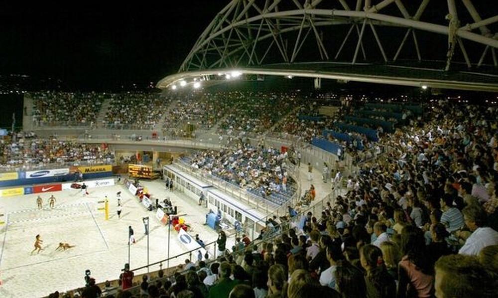 Αγώνες ξανά στο γήπεδο του μπιτς βόλεϊ στο Φάληρο