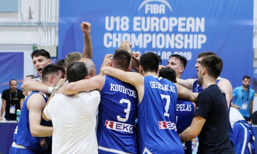 Ευρωμπάσκετ U18: Πανέτοιμη για την πρόκληση η Ελλάδα (videos)