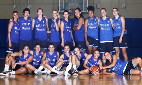 Ξεκίνησε την προετοιμασία η Εθνική γυναικών μπάσκετ