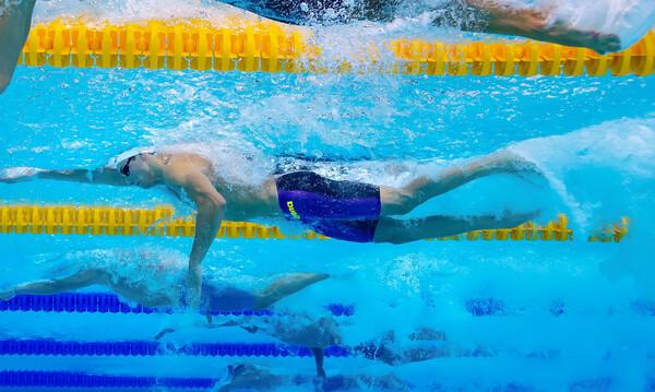 Πανελλήνιο πρωτάθλημα κολύμβησης: Εντυπωσιακές εμφανίσεις από Γκολομέεβ και Βαζαίο