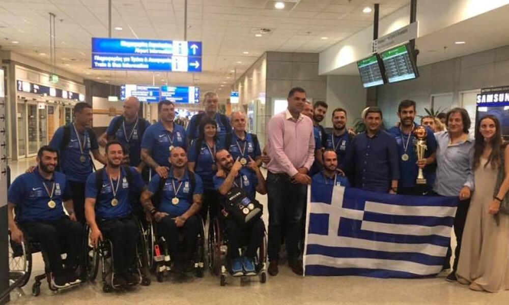Ο Λ. Αυγενάκης υποδέχθηκε την πρωταθλήτρια Εθνική ομάδα μπάσκετ με Αμαξίδιο
