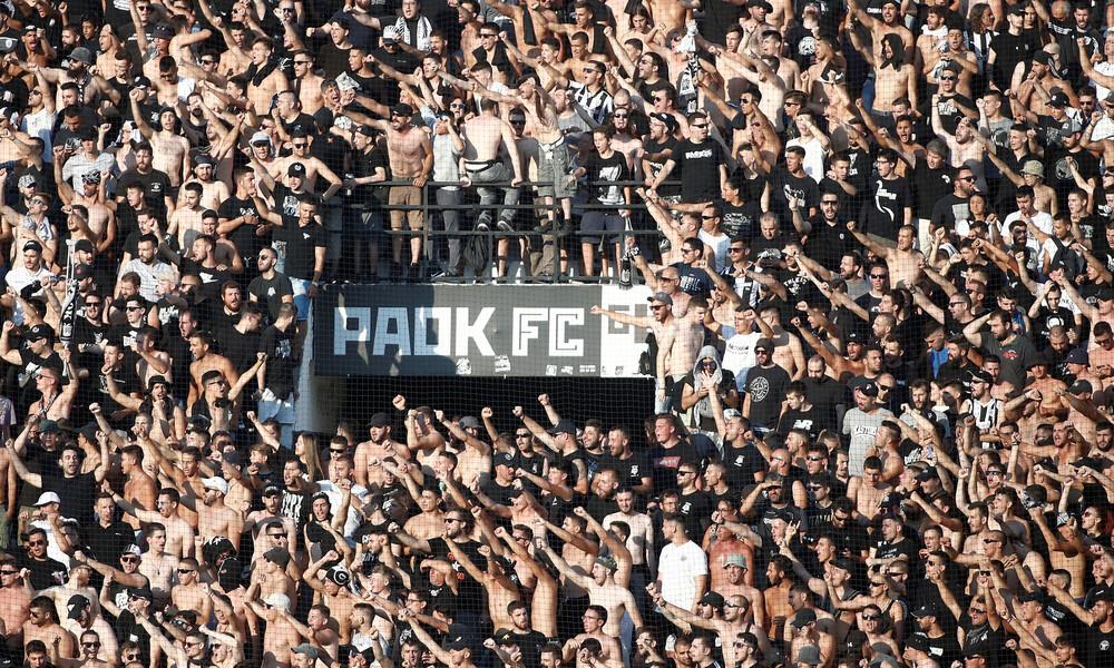 ΠΑΟΚ-Άγιαξ: Αντιδράσεις των Σκοπίων για το πανό στην Τούμπα (photo)