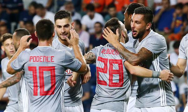 Μπασάκσεχιρ-Ολυμπιακός 0-1: Απόδραση πρόκρισης με Μασούρα και... Σα! (photos)
