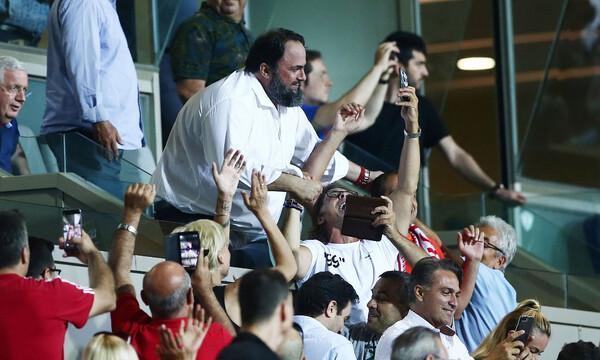 Μαρινάκης: «Να ζήσουμε μία ακόμα μεγάλη θρυλική βραδιά στον Πειραιά μας»