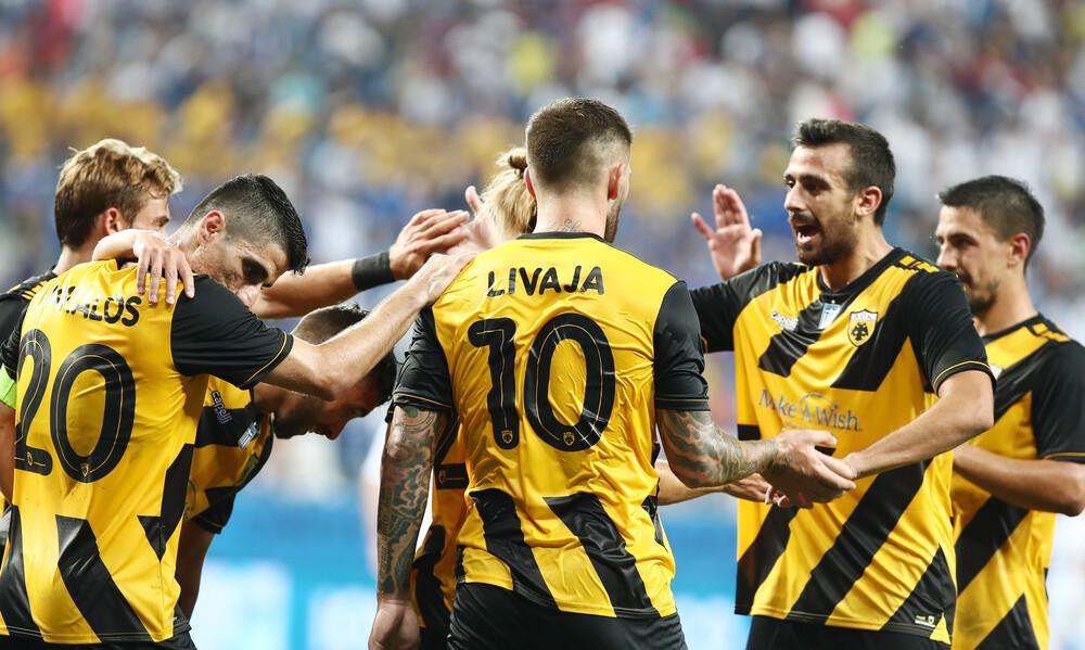 Κραϊόβα-ΑΕΚ 0-2: Η γκολάρα του Λιβάγια και τα highlights (video)