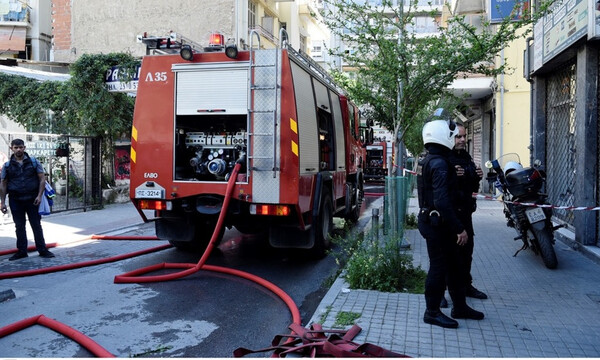 Φωτιά ΤΩΡΑ: Μεγάλη πυρκαγιά στον Πειραιά - Διακοπή κυκλοφορίας