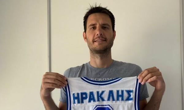 Μανωλόπουλος: «Χαρούμενος που επέστρεψα στον Ηρακλή» (photo)