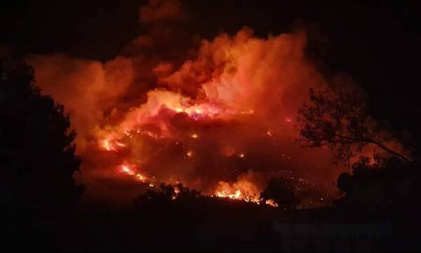 Φωτιά Υμηττός: Μάχη με το χρόνο δίνουν οι πυροσβέστες - Δύο καμμένα σπίτια σύμφωνα με τον Φιλίππου