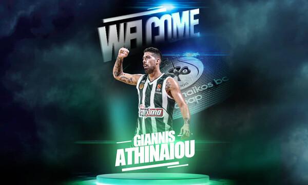 Παναθηναϊκός ΟΠΑΠ: Επίσημα «πράσινος» ο Αθηναίου