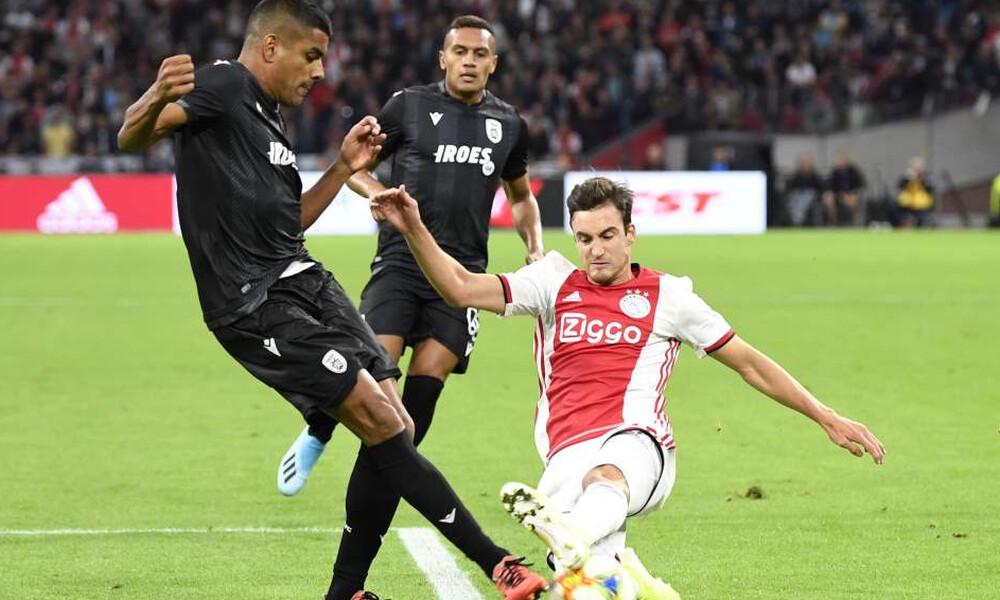 Άγιαξ-ΠΑΟΚ 3-2: Τα γκολ και τα highlights του αγώνα (video)