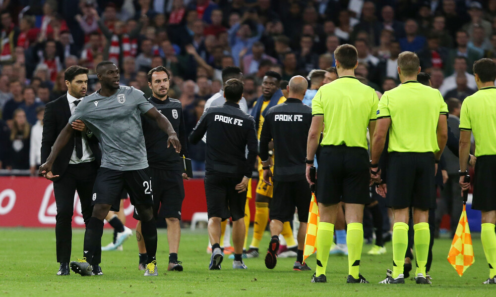 ΠΑΟΚ: Έκρηξη Ζαγοράκη κατά UEFA και διαιτησίας (photo)