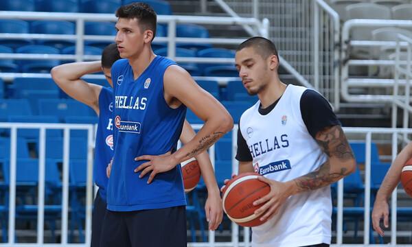 Εθνική Ανδρών: Εκτός οι Κόνιαρης και Μήτογλου από το ματς με Ιταλία